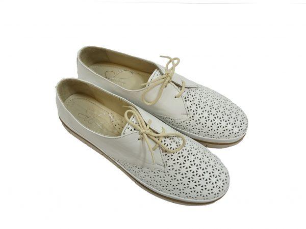 дамски-обувки-силвер-връзки-2
