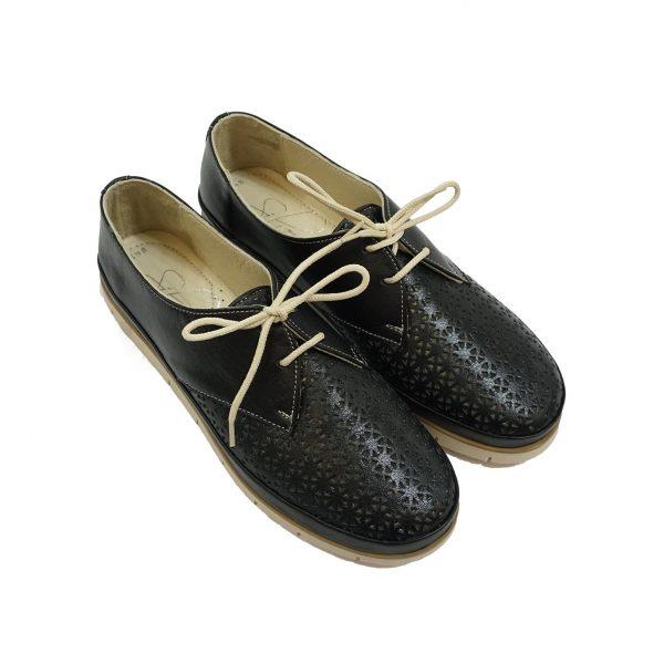 дамски-обувки-силвер-черни-вр