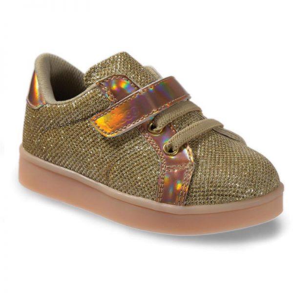 детски-светещи-обувки-златни