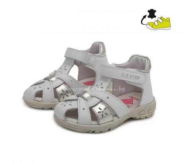 детски-сандали-бело-сребро-D.D.STEP-20-1