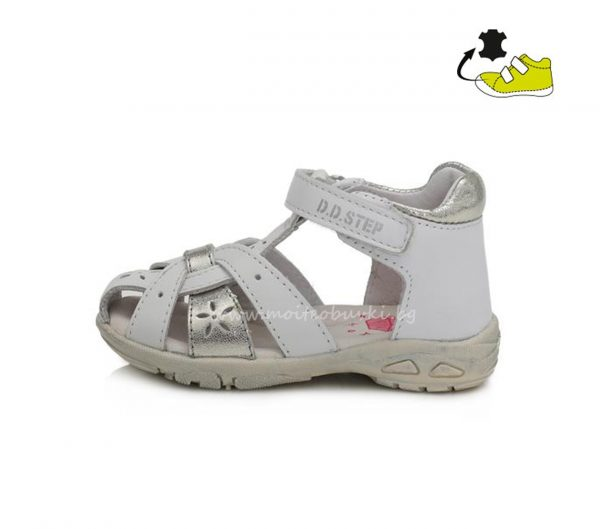детски-сандали-бело-сребро-D.D.STEP-20-3