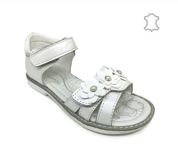 детски-сандали-естествена-кожа-бели-clibee-2