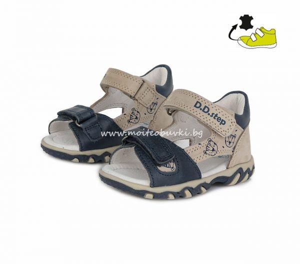 D.D.STEP-сандали-момче-сиви-21-1