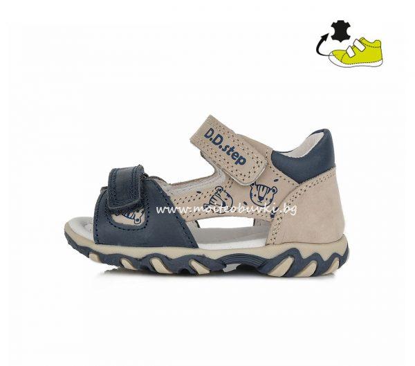 D.D.STEP-сандали-момче-сиви-21-2